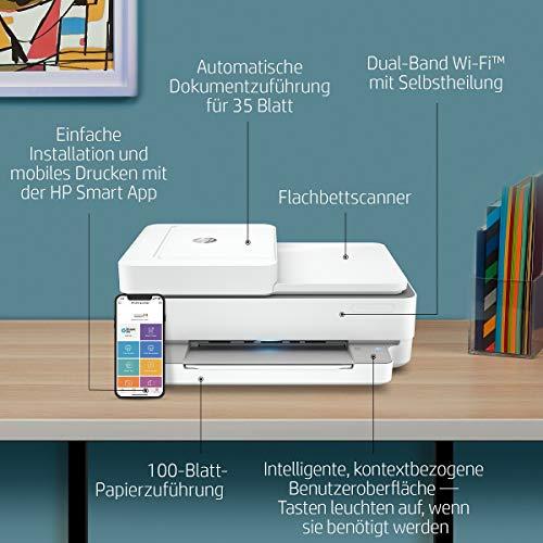 HP ENVY Pro 6420 Multifunktionsdrucker   WLAN Drucker Test ...