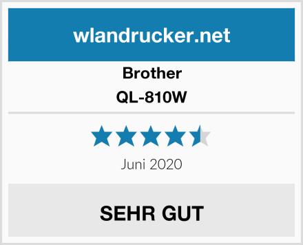 Brother QL-810W Test