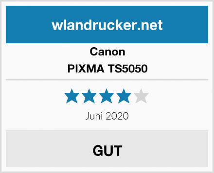 Canon PIXMA TS5050 Test