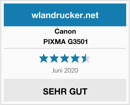 Canon PIXMA G3501 Test