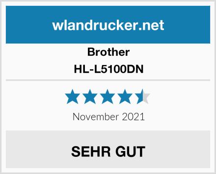Brother HL-L5100DN Test
