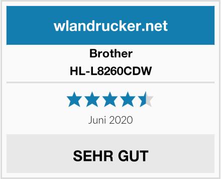 Brother HL-L8260CDW Test