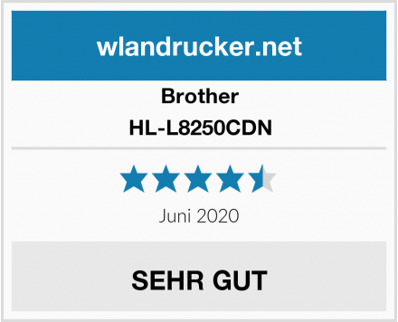 Brother HL-L8250CDN Test