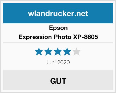 Epson Expression Photo XP-8605 Test