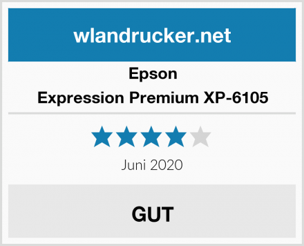 Epson Expression Premium XP-6105 Test