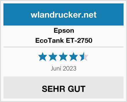 Epson EcoTank ET-2750 Test