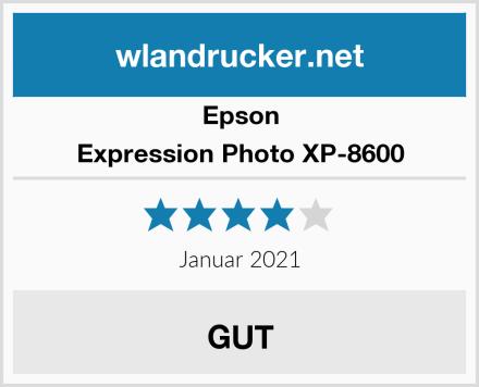 Epson Expression Photo XP-8600 Test