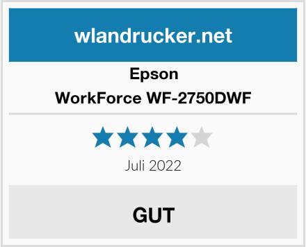 Epson WorkForce WF-2750DWF Test