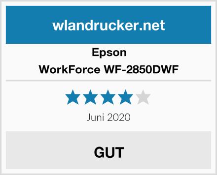 Epson WorkForce WF-2850DWF Test