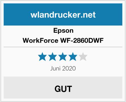 Epson WorkForce WF-2860DWF Test