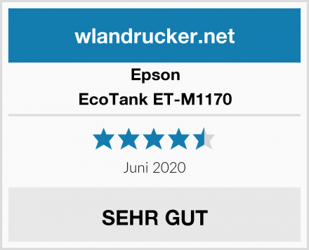 Epson EcoTank ET-M1170 Test