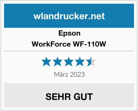 Epson WorkForce WF-110W Test