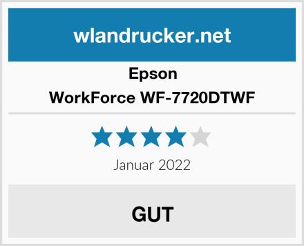 Epson WorkForce WF-7720DTWF Test