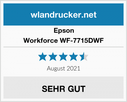 Epson Workforce WF-7715DWF Test