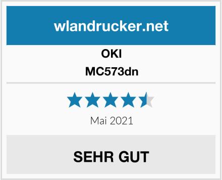OKI MC573dn Test