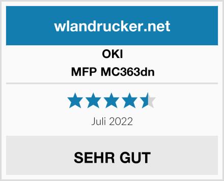 OKI MFP MC363dn Test
