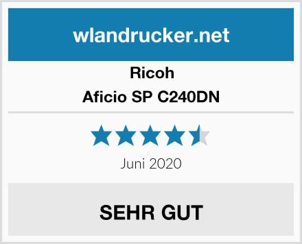 Ricoh Aficio SP C240DN Test