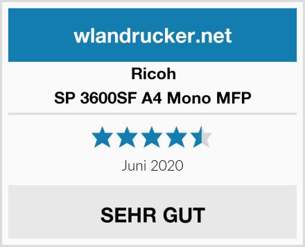 Ricoh SP 3600SF A4 Mono MFP Test
