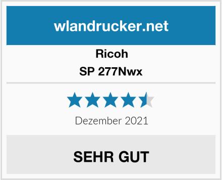 Ricoh SP 277Nwx Test
