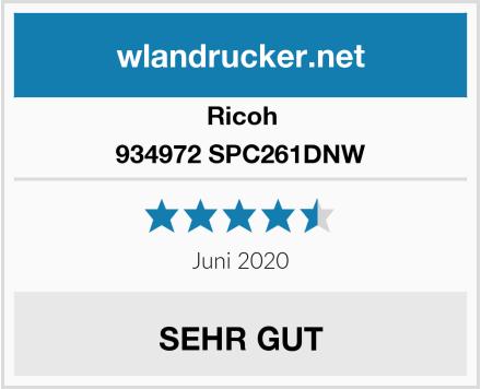 Ricoh 934972 SPC261DNW Test