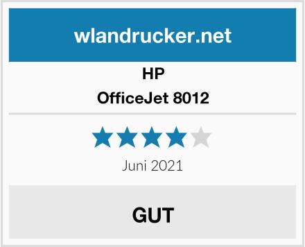 HP OfficeJet 8012 Test