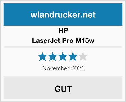HP LaserJet Pro M15w Test