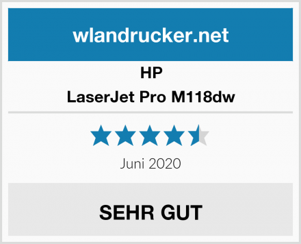 HP LaserJet Pro M118dw Test