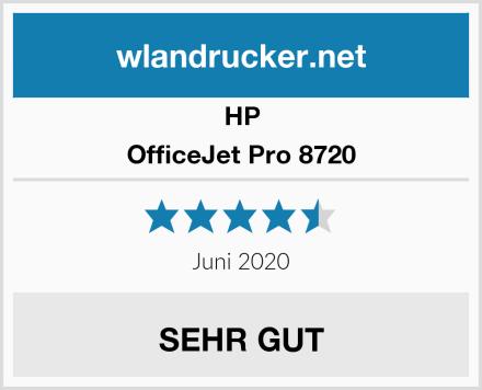 HP OfficeJet Pro 8720 Test