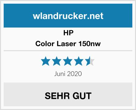 HP Color Laser 150nw Test