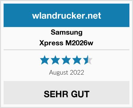 Samsung Xpress M2026w Test
