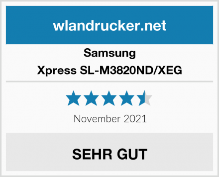 Samsung Xpress SL-M3820ND/XEG Test