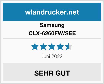 Samsung CLX-6260FW/SEE Test