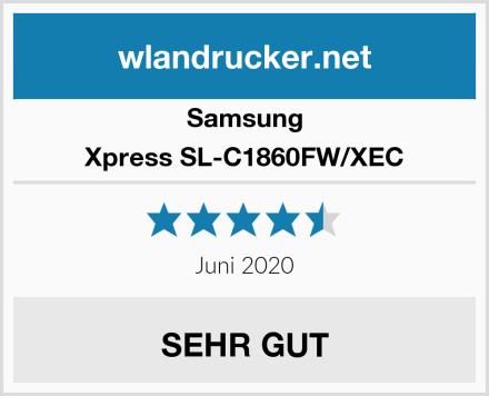 Samsung Xpress SL-C1860FW/XEC Test