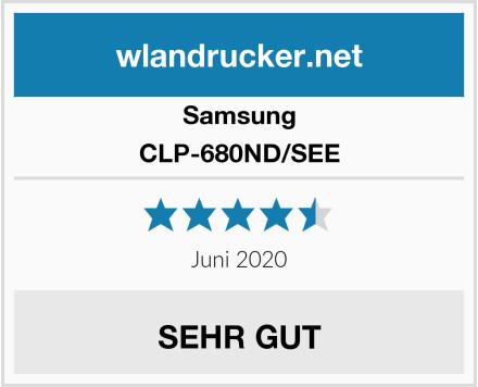 Samsung CLP-680ND/SEE Test