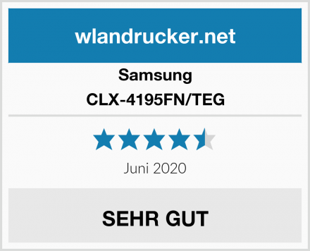 Samsung CLX-4195FN/TEG Test