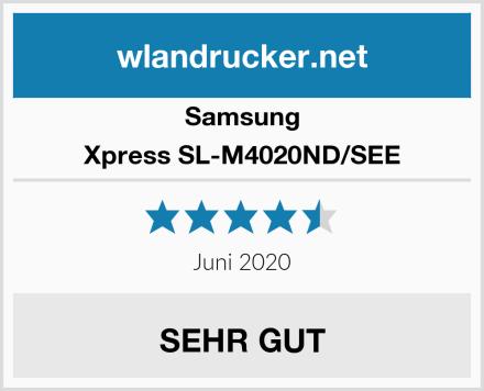 Samsung Xpress SL-M4020ND/SEE Test