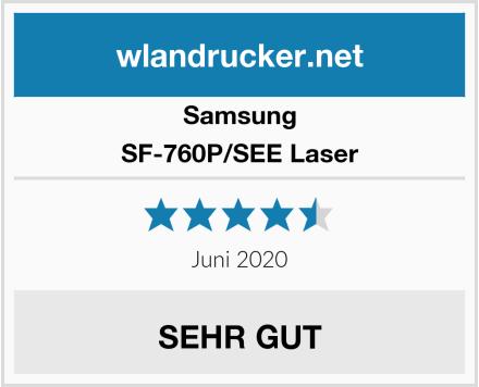 Samsung SF-760P/SEE Laser Test