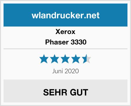 Xerox Phaser 3330 Test