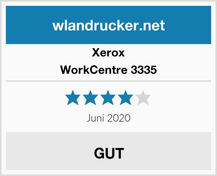 Xerox WorkCentre 3335 Test