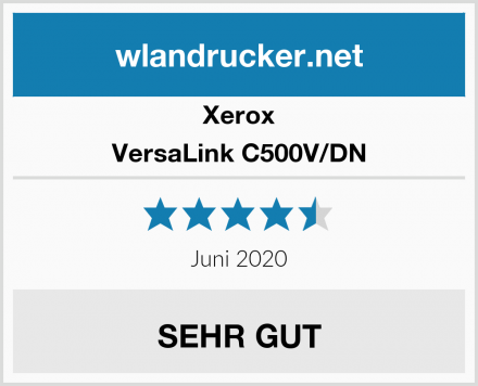 Xerox VersaLink C500V/DN Test