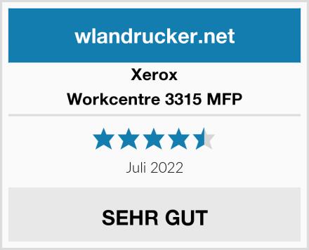 Xerox Workcentre 3315 MFP Test