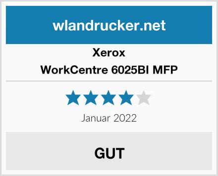 Xerox WorkCentre 6025BI MFP Test