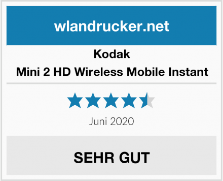 Kodak Mini 2 HD Wireless Mobile Instant Test