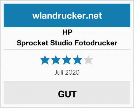 HP Sprocket Studio Fotodrucker Test