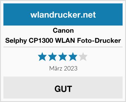 Canon Selphy CP1300 WLAN Foto-Drucker Test