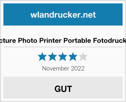 No Name Victure Photo Printer Portable Fotodrucker Test