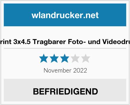 No Name Lifeprint 3x4.5 Tragbarer Foto- und Videodrucker Test