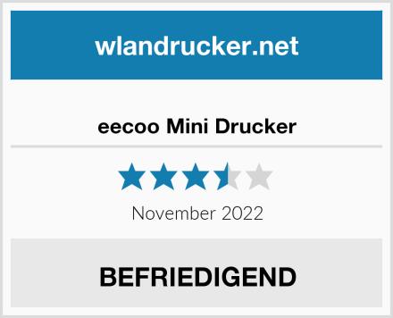 No Name eecoo Mini Drucker Test