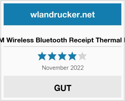 No Name NETUM Wireless Bluetooth Receipt Thermal Printer Test