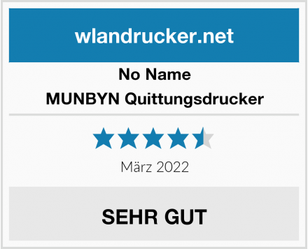 No Name MUNBYN Quittungsdrucker Test
